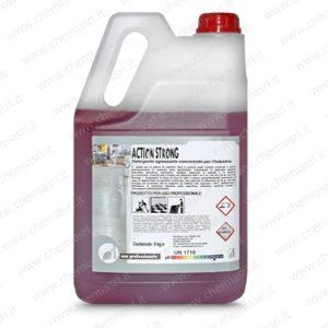 Detergente sgrassante alcalino ad alta concentrazione per sporco sintetico