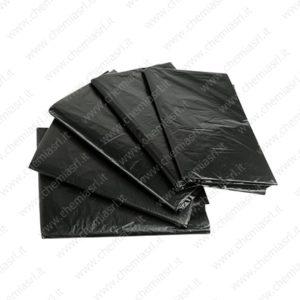 sacchi neri immondizia stesi sfusi