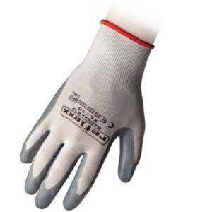 guanti maglia nylon spalmati nbr nitrile