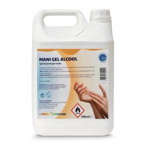 gel mani igienizzante idroalcolico