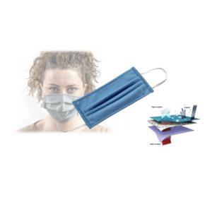 Mascherina protettiva in tessuto e poliestere lavabile 70 cicli tx24 KID bambino