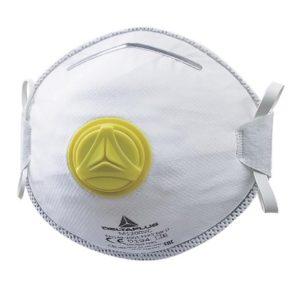 mascherina FFP2 con valvola