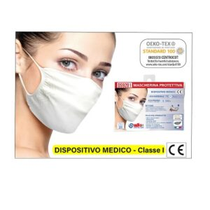 Mascherina DPI dispositivo medico classe 1 oeko tex