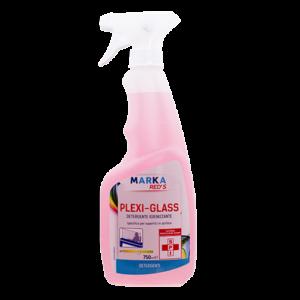 Detergente igienizzante anti-opacizzante per la pulizia di plexiglass